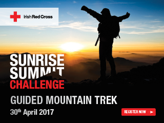 irish charity challenge sunrise summit challenge 2017 ireland irish charity