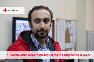 "Salah's story: ""The smile of the people when they get help is enough for me to go on"""