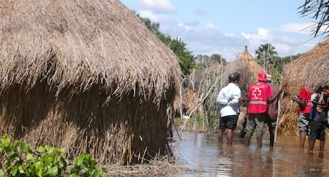 The Kenya Red Cross Society has been responding to massive floods across the country.