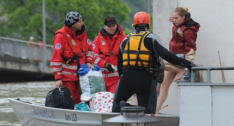 Floods across Europe   The German Red Cross has been involved in rescue operations in the south-east of the country.IFRC