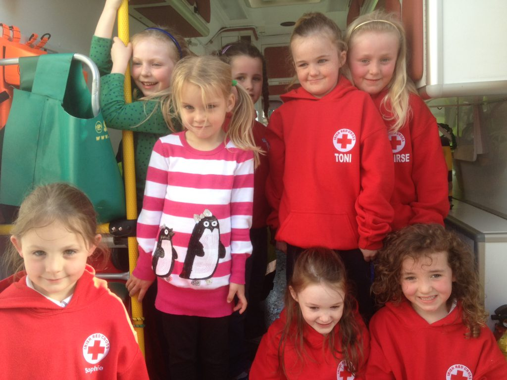 Irish Red Cross Teddy Bears ...could these be our youngest volunteers?! [Irish Red Cross Cobh]