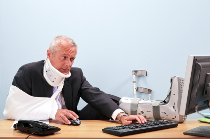 5 Top Tips For a Safer Office - it only takes a few minutes to prevent injuries in the workplace