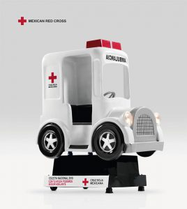 An imaginative Campaign from the Mexican Red Cross