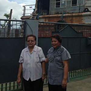 Irma Cruz Roasa, a retired director of nursing, lives  next to the beach in Tacloban. Here she recounts her experience of when Haiyan hit.