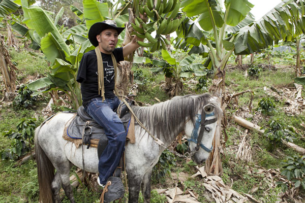 """People can learn to overcome anything, if they take it one step at a time,"" says Wilmer, a Honduran plantation worker who received two artificial legs from the ICRC. ""Even though I fall down — and I fall down a lot — I keep trying until I succeed."" After crossing Guatemala, he climbed onto a train in Tenosique, in southern Mexico in an effort to reach the United States.  Photo: ©Olivier Moeckli, ICRC"