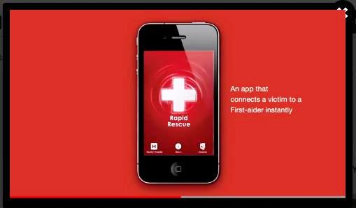 Singapore Red Cross Rapid Rescue Mobile Application