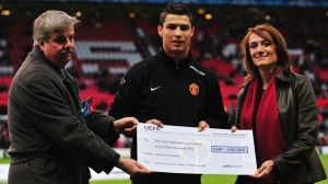 Ronaldo has been the ambassador for the online Score for the Red Cross fundraising campaign, part of the official UEFA EURO 2008   humanitarian project launched by UEFA together with the Red Cross