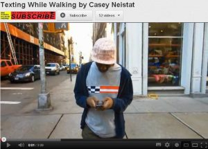 Texting While Walking by Casey Neistat